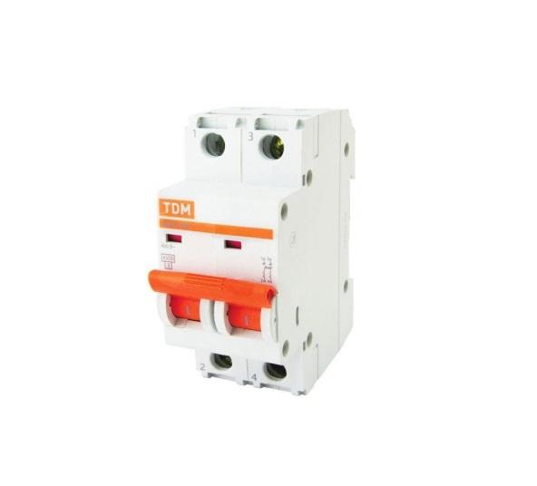 Выключатель автоматический ВА 47-29 2Р 1А 4,5кА х-ка С TDM SQ0206-0084