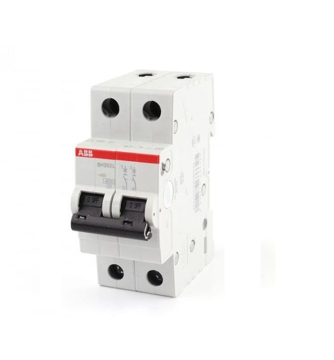 Выключатель автоматический ABB 2п SH202L C6A (2CDS242001R0064)